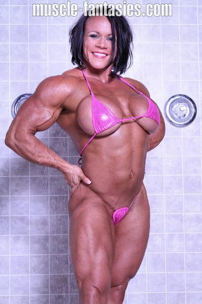 Female bodybuilder sarah dunlap nude